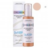 Enough Тональная основа 3 в 1 Collagen Whitening Moisture 3in1 Foundation тон 13 SPF15 100 мл