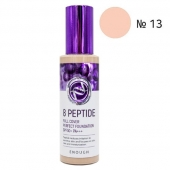 Enough Тональная основа 8 Peptide Full Cover Perfect Foundation тон 13 SPF50+ PA+++ 100 мл