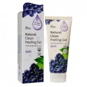Ekel Пилинг-скатка для лица Natural Clean Peeling Gel Grape 180 мл
