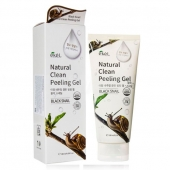 Ekel Пилинг-скатка с муцином улитки Natural Clean Peeling Gel Black Snail 180 мл