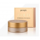 Petitfee Гидрогелевые патчи Gold Hydrogel Eye Patch 5 golden complex 60 шт