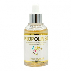 Сыворотка для лица Angels Liquid Propolis 80 Extract Processed Recovery Gold Ampoule 55 мл
