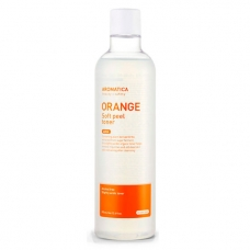 Тонер-пилинг витаминный Aromatica 3% AHA Orange Soft peel toner 375 мл