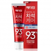 Median Зубная паста Dental IQ 93% Toothpaste Remove Bad Breath Red 120 г