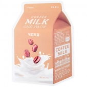 Apieu Тканевая маска Coffee Milk One-Pack 21 мл