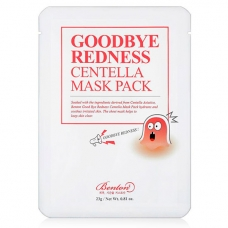 Маска тканевая Benton Goodbye Redness Centella Mask Pack 23 г