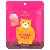 BR Маска тканевая Berrisom Animal Mask Series Cat 25 мл