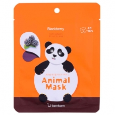 Маска тканевая Berrisom Animal mask series Panda 25 мл