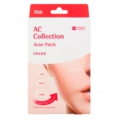 COSRX Патчи от акне AC Collection Acne Patch 26 шт (15x23мм 8шт, 11x16мм 9шт, 9x13мм 9шт)