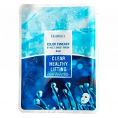 Deoproce Тканевая маска Color Synergy Effect Mask Sheet Blue 20 г