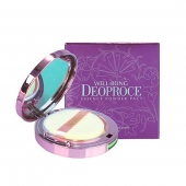 DP Пудра компактная увл. Deoproce well-being essence powder pact 18g