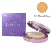 Deoproce Пудра компактная Well-Being Essence Powder Pact Тон 21 18 г