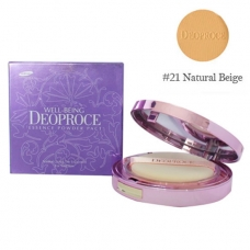 Пудра компактная Deoproce Well-Being Essence Powder Pact Тон 21 18 г