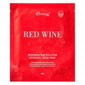 Esthetic House Гидрогелевая маска для лица Red Wine Regenerating Solution Hydrogel Mask Pack 28 мл