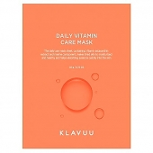 KLAVUU Маска тканевая KLAVUU DAILY VITAMIN CARE MASK 24 г