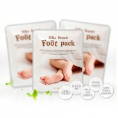 Маска для ног Calmia Silky Repair Foot Pack