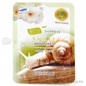 Листовая маска Eco Mask Sheet Snail 23ml 1592