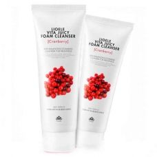Пена для умывания Lioele Vita Juicy Foam Cleanser Cranberry