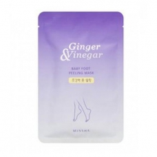 Маска-пилинг для ног Missha Ginger & Vinegar Baby Foot Peeling Mask