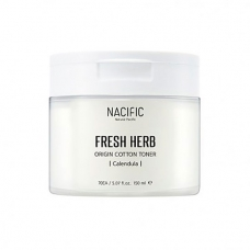 Тонер с календулой в дисках Nacific Fresh Herb Origin Cotton Toner 70 шт/170 мл
