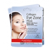 Коллагеновая маска для глаз Purederm Collagen Eye Zone Mask 1577