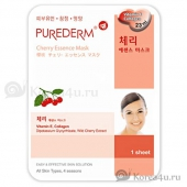 Маска с экстрактом ацеролы Purederm Cherry Essence Mask
