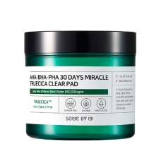Пилинг-пэды для лица SOME BY MI AHA, BHA, PHA 30 Days Miracle Truecica Clear Pad 70 шт