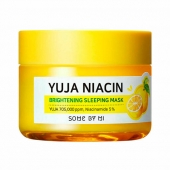 SOME BY MI Маска для лица ночная Yuja Niacin 30 Days Miracle Brightening Sleeping Mask 60 г