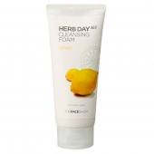 Пена для умывания The Face Shop Herb Day 365 Lemon Cleansing Foam 170 мл / лимон