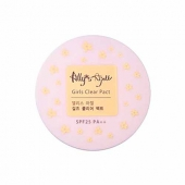 Пудра The Saem Allys Ajell Girls Clear Pact SPF25 PA++ 10g
