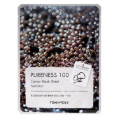 Tony Moly Тканевая маска Pureness100 Caviar Mask Sheet 21 г