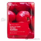 Тканевая маска с ацероллой Tony Moly Acerola Natural pulp sheet mask