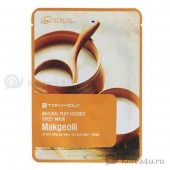 Освежающая маска Tony Moly Makgeolli Natural pulp sheet mask