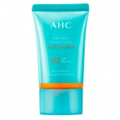 AHC Крем солнцезащитный Natural Perfection Moist Sun Cream SPF50+PA++++ 50ml